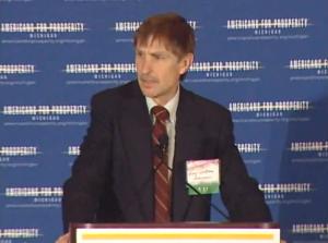 Dr. Gary Wolfram, Hillsdale College